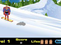 Superman Snowboard